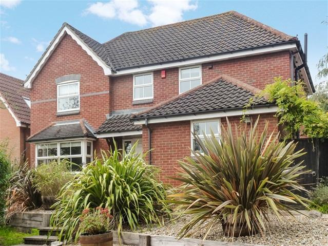 4 Bedrooms Detached House for sale in Coppice Close, Melton, Woodbridge