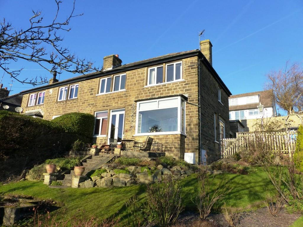 3 Bedrooms Semi Detached House for sale in Barley Cote Grove, Riddlesden