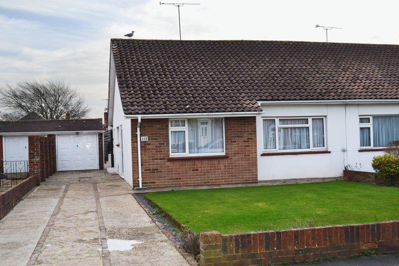 2 Bedrooms Semi Detached Bungalow for sale in GORING BY SEA