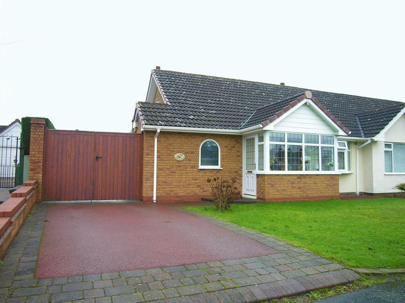 2 Bedrooms Semi Detached Bungalow for sale in Druids Avenue, Walsall