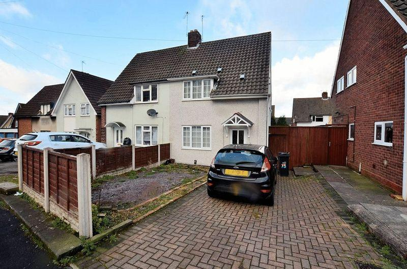 2 Bedrooms Semi Detached House for sale in Ashenhurst Road, Dudley