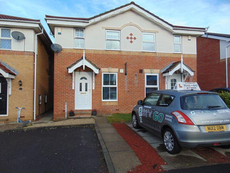 2 Bedrooms Semi Detached House for sale in Greenhills, Killingworth, Newcastle Upon Tyne