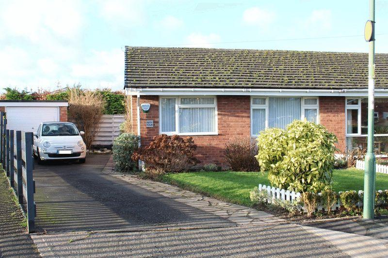 2 Bedrooms Semi Detached Bungalow for sale in Avondale Drive, Castlefields, Shrewsbury, SY1 2UA