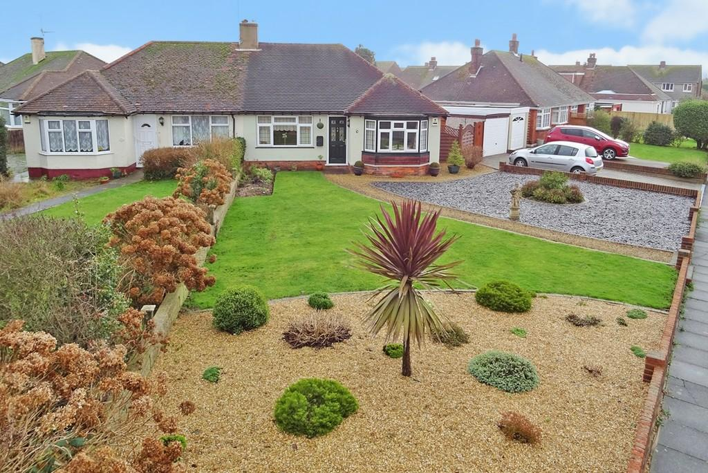 2 Bedrooms Semi Detached Bungalow for sale in Acacia Avenue, Worthing, BN13 2JB
