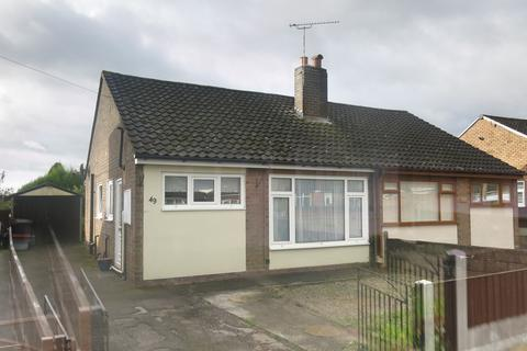 2 bedroom semi-detached bungalow to rent - Lichfield Road, Talke Pits
