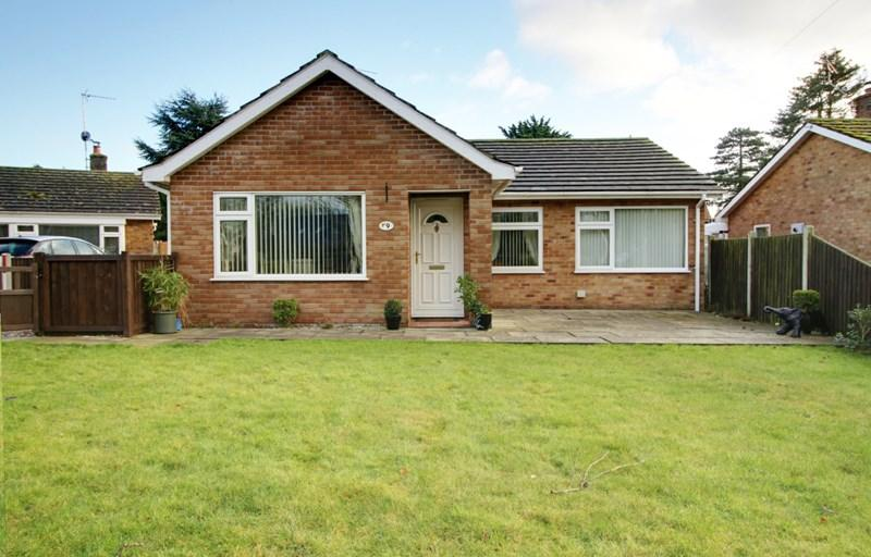 3 Bedrooms Detached Bungalow for sale in Silver End, Reepham, Norwich