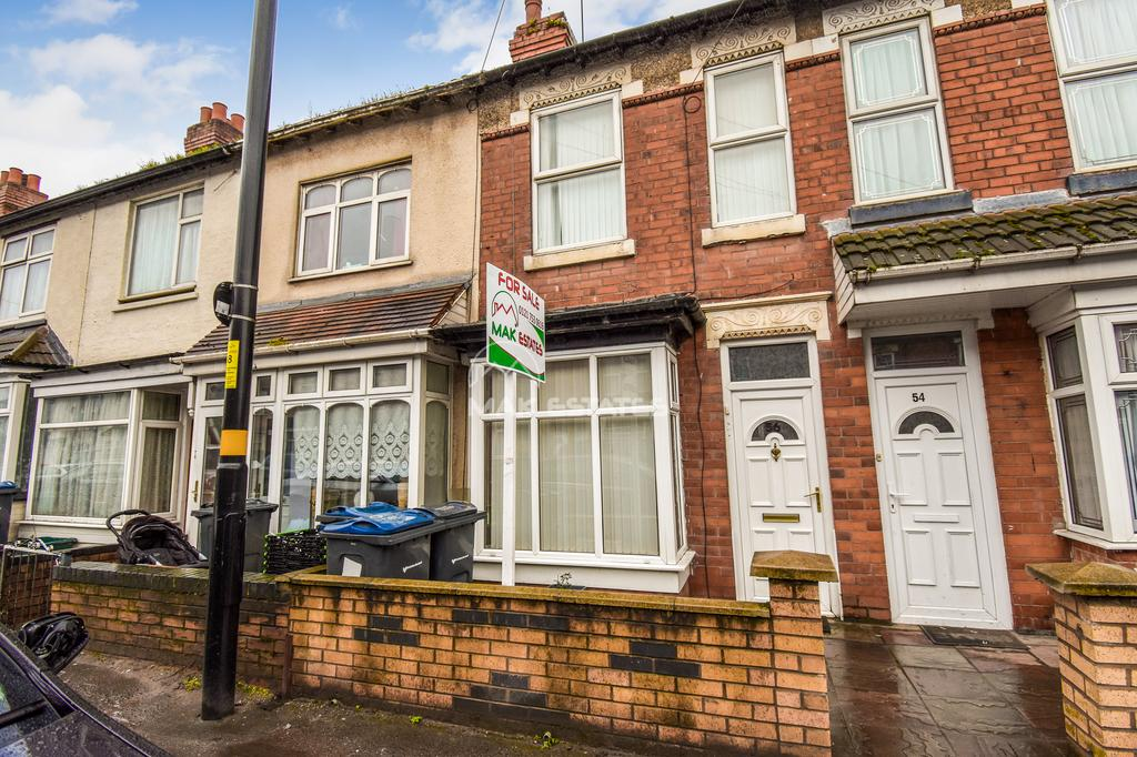 2 Bedrooms Terraced House for sale in Formans Road, Sparkhill, Biringham B11