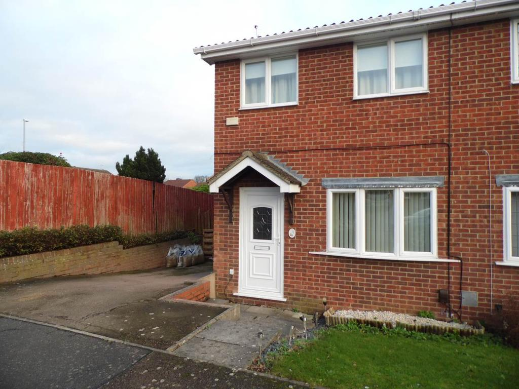2 Bedrooms Semi Detached House for rent in Sandover, East Hunsbury, Northampton