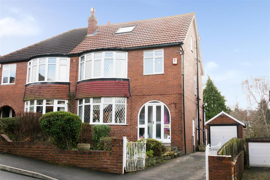 4 Bedrooms Semi Detached House for sale in Wynford Rise, Adel