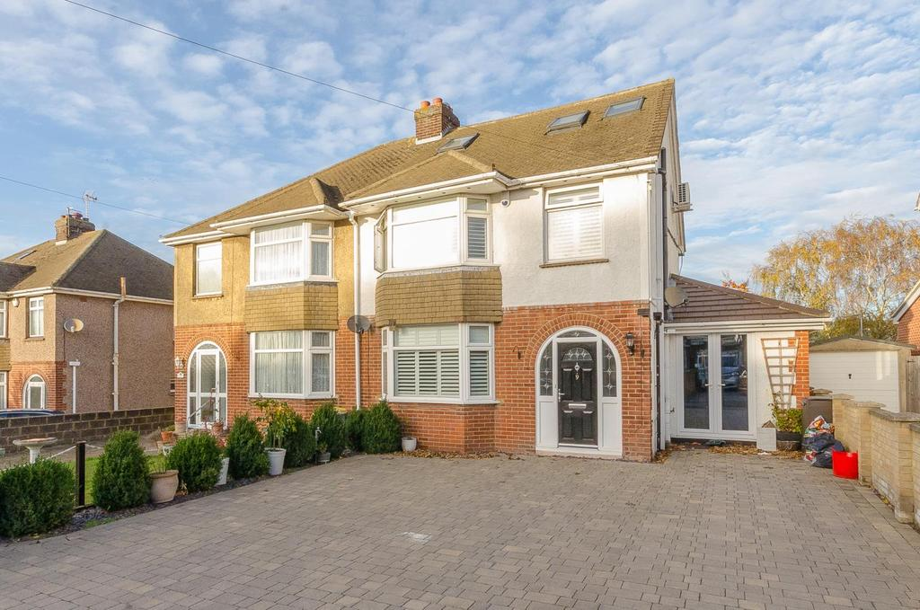 4 Bedrooms Semi Detached House for sale in Downs Road , Penenden Heath , Maidstone , Kent