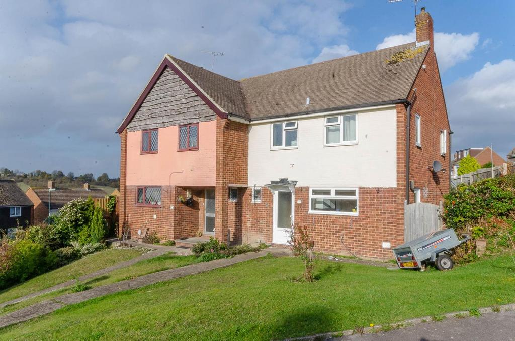 3 Bedrooms Semi Detached House for sale in Hazel Grove, Chatham, Kent
