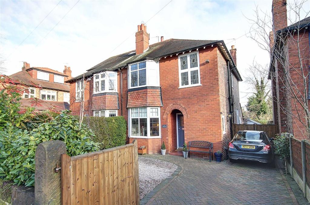 3 Bedrooms Semi Detached House for sale in Ashley Road, Altrincham, Cheshire