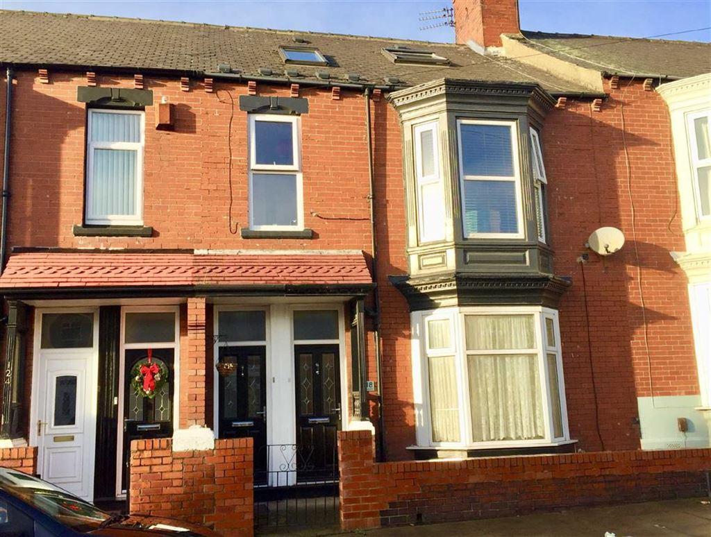 3 Bedrooms Maisonette Flat for sale in Birchington Avenue, South Shields