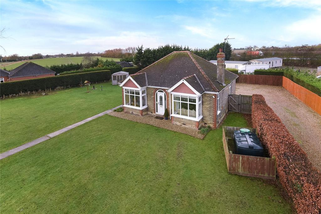 2 Bedrooms Detached Bungalow for sale in Marsh Road, Sutterton, PE20