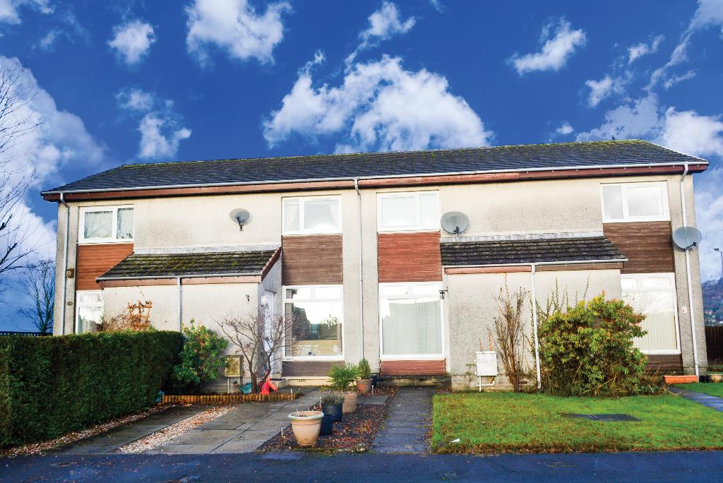 2 Bedrooms Terraced House for sale in Lothian Crescent, Causewayhead, Stirling, FK9 5SG