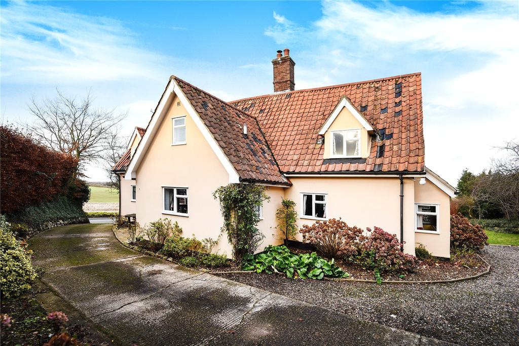 3 Bedrooms Detached House for sale in School Road, Elmswell, Bury St Edmunds, Suffolk, IP30