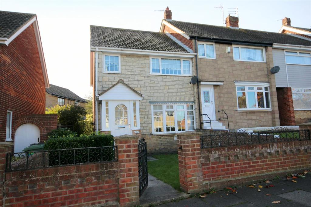 3 Bedrooms End Of Terrace House for sale in Clavering Road, Hartlepool