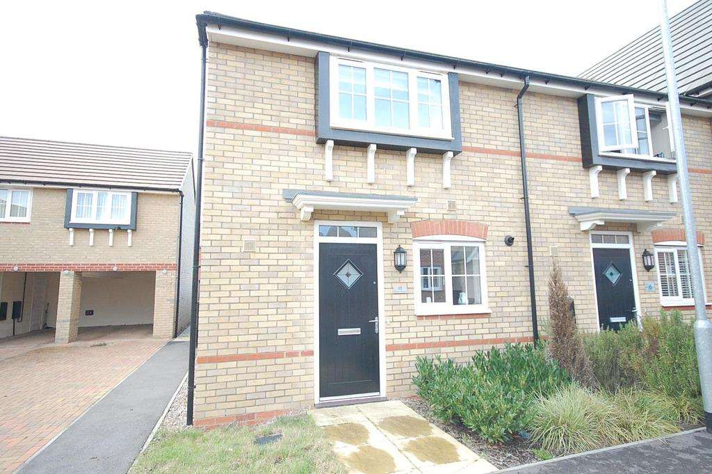 3 Bedrooms Terraced House for sale in Oak Row, Brixworth, Northampton