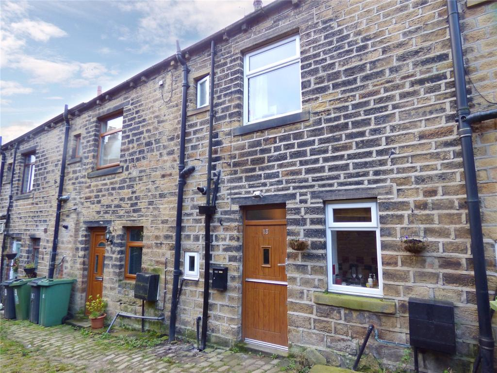 3 Bedrooms Terraced House for sale in Clay Well, Golcar, Huddersfield, West Yorkshire, HD7