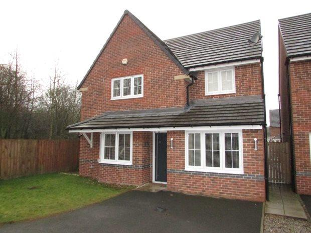 4 Bedrooms Detached House for sale in MORGAN DRIVE, SPENNYMOOR, SPENNYMOOR DISTRICT