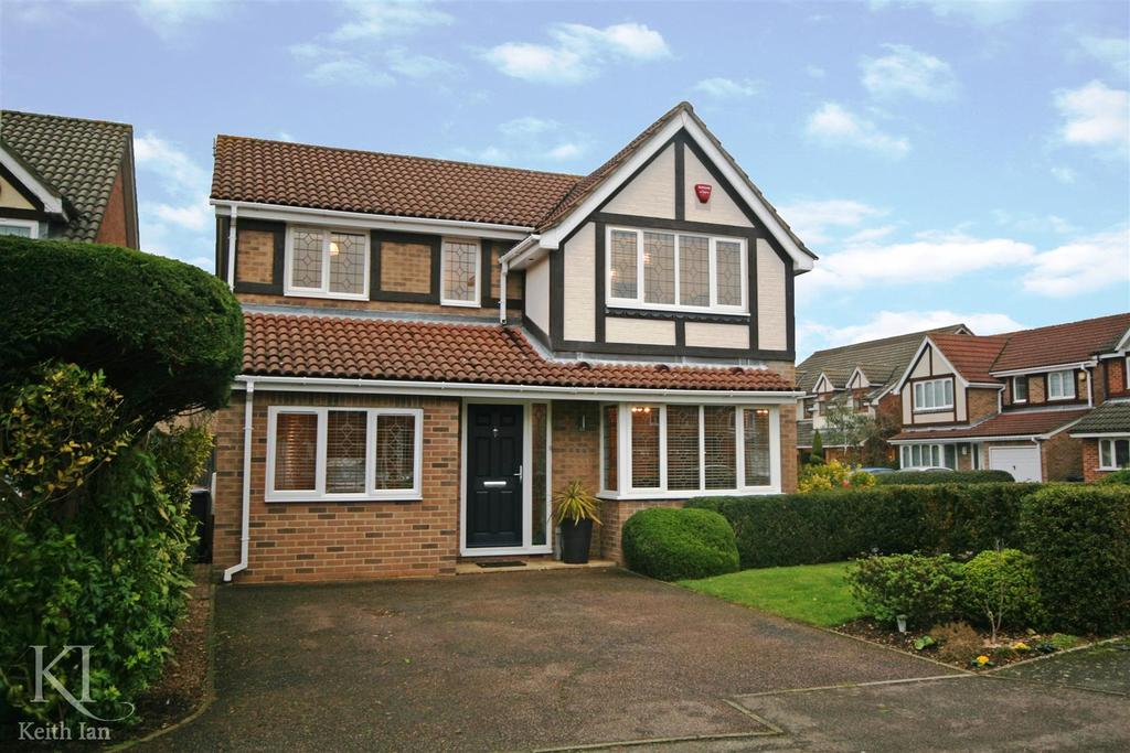 4 Bedrooms Detached House for sale in Robin Close, Stanstead Abbotts