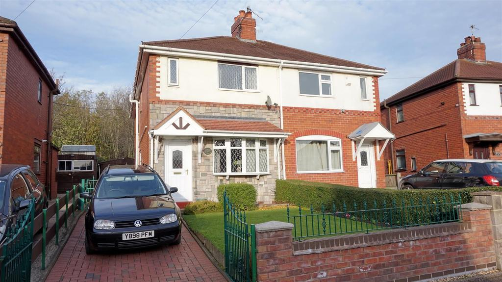 3 Bedrooms Semi Detached House for sale in Ellams Place, Silverdale, Newcastle, Staffs