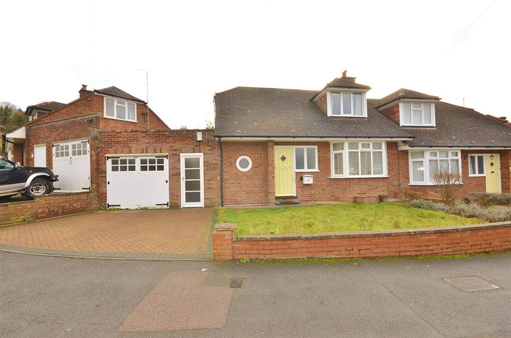 2 Bedrooms Semi Detached House for sale in Alwyn Close, Wardown Park