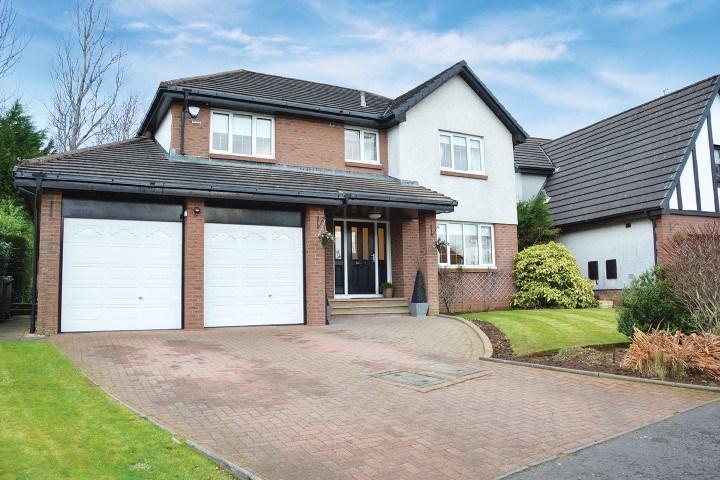 4 Bedrooms Detached Villa House for sale in Macnicol Park, East Kilbride, Glasgow, G74