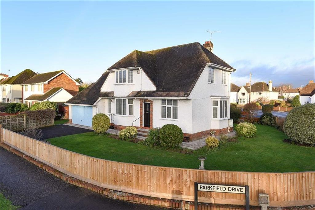4 Bedrooms Detached House for sale in Parkfield Drive, Taunton, Somerset, TA1