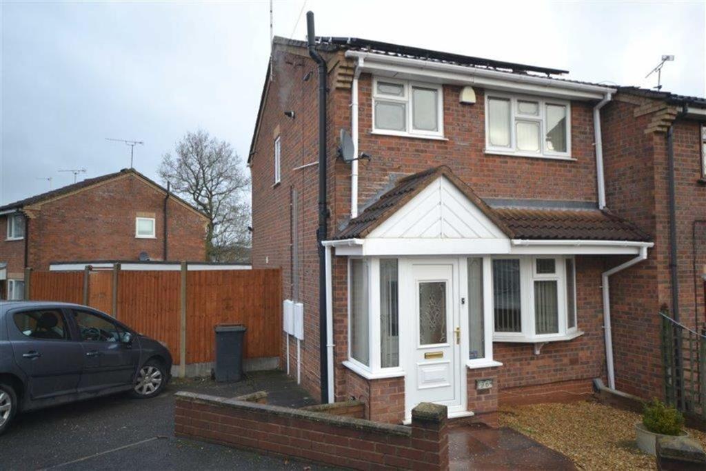 3 Bedrooms Semi Detached House for sale in Frensham Drive, Poplar Farm, Nuneaton