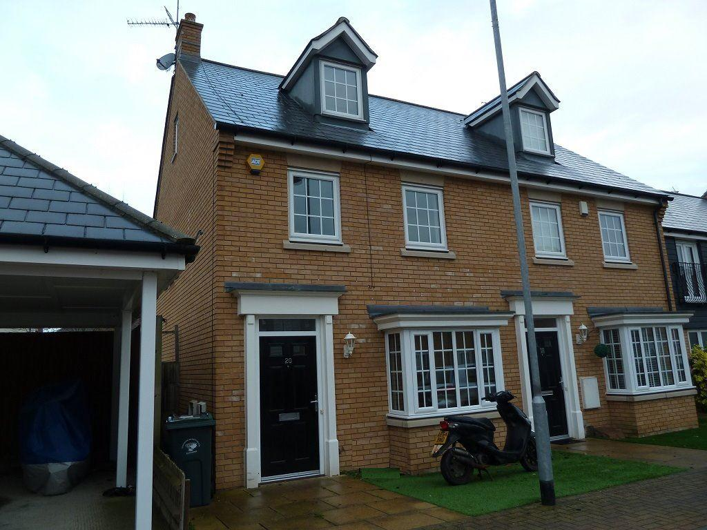 3 Bedrooms Semi Detached House for rent in Little Canfield