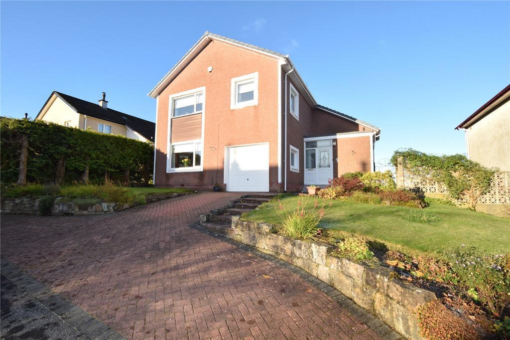 4 Bedrooms Detached House for sale in Lynn Drive, Eaglesham, Glasgow, Lanarkshire