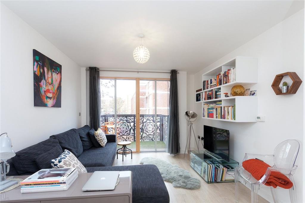 1 Bedroom Flat for sale in Hitchcock House, 194 Pitfield Street, London, N1