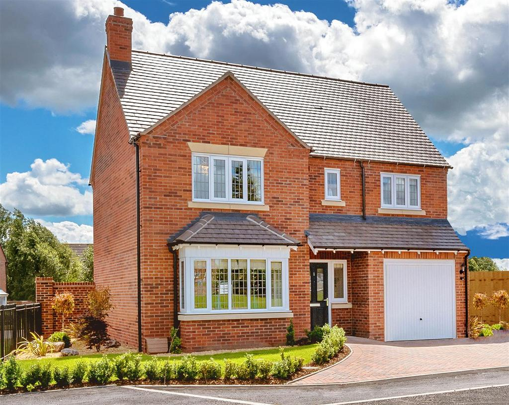 4 Bedrooms Detached House for sale in 9 Hanley Grange, Bayston Hill, Shrewsbury