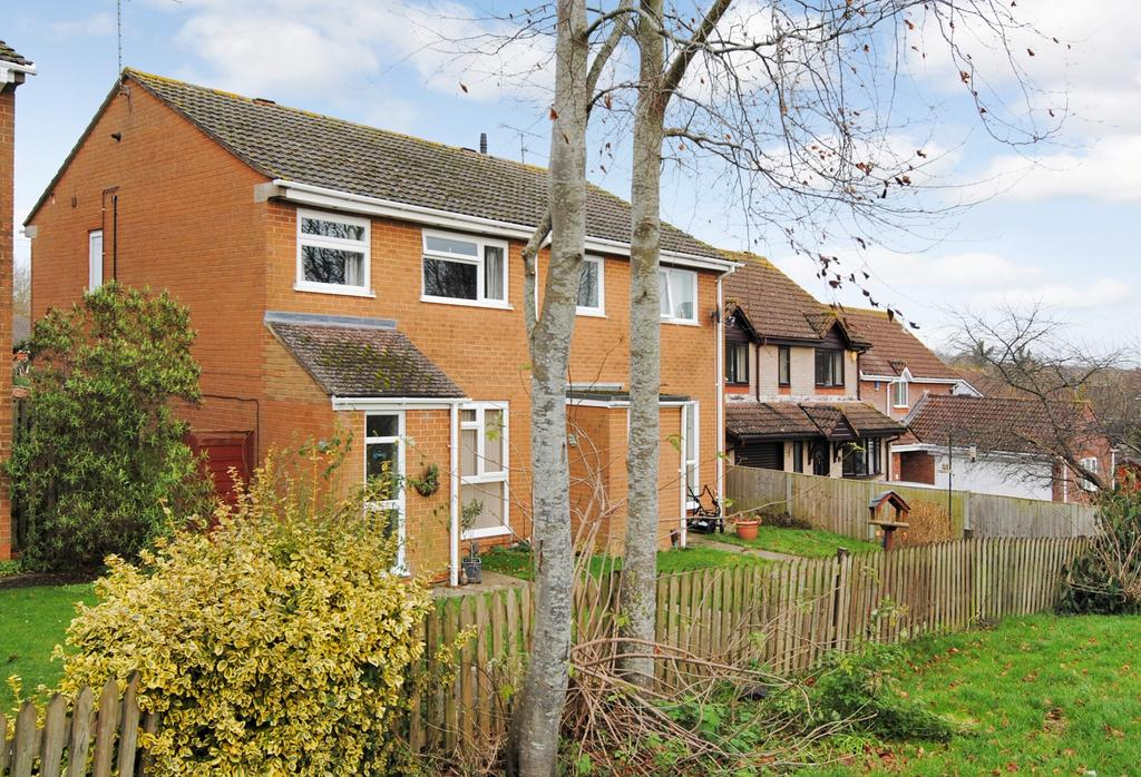 3 Bedrooms Semi Detached House for sale in Glendale Road, Durrington, Salisbury, SP4 8EP