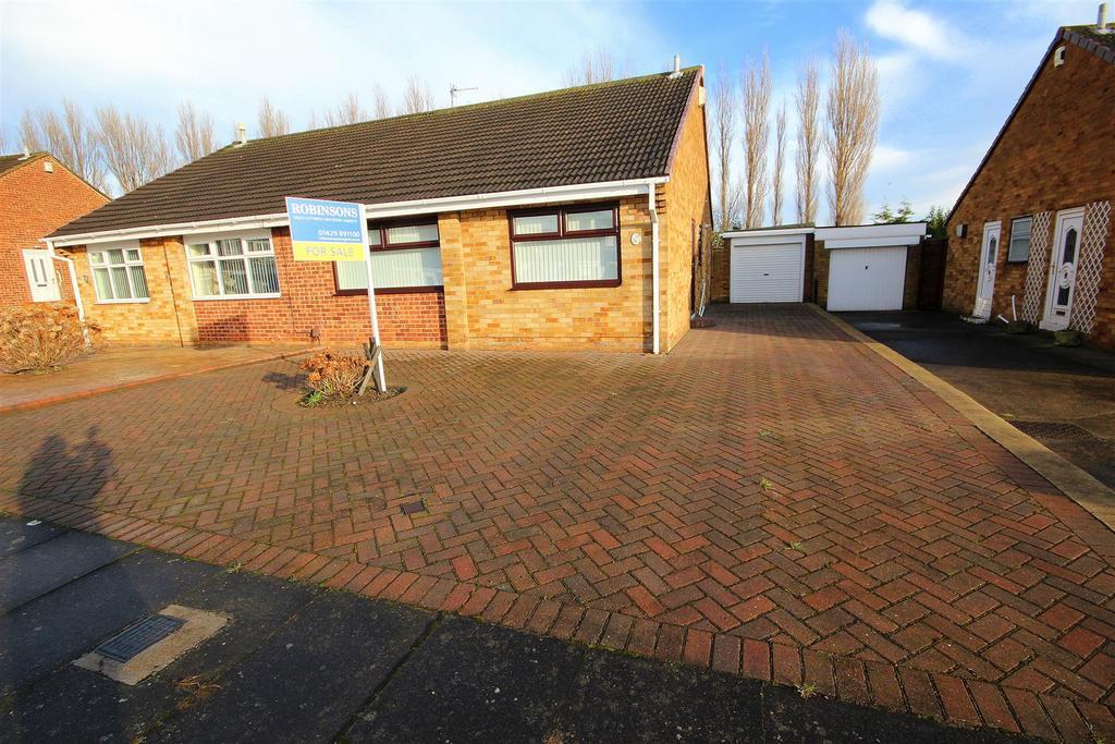 2 Bedrooms Semi Detached Bungalow for sale in Regency Drive, Hartlepool