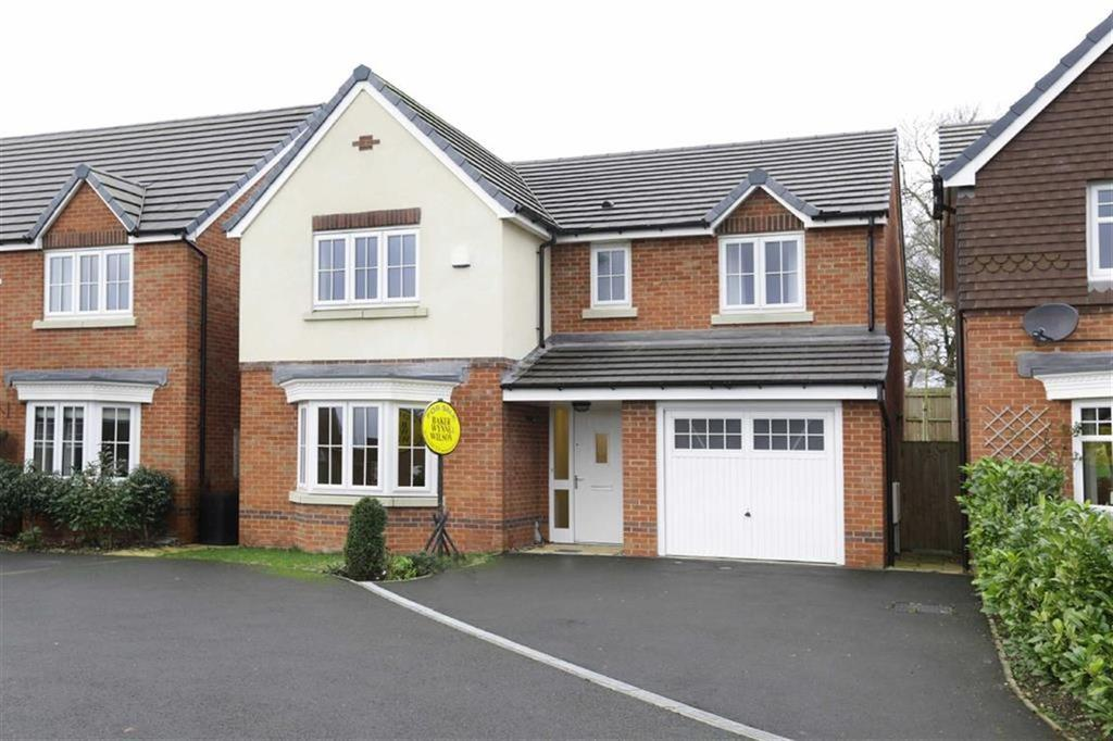 4 Bedrooms Detached House for sale in Canalside Close, Nantwich, Cheshire