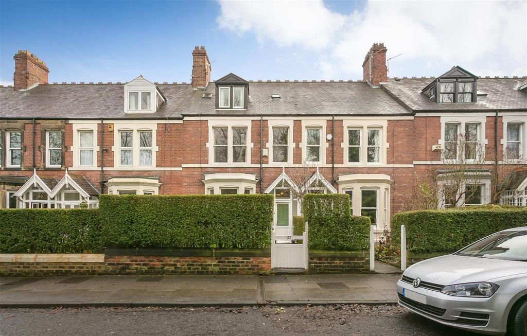 5 Bedrooms Terraced House for sale in Balmoral Terrace, South Gosforth, Newcastle upon Tyne
