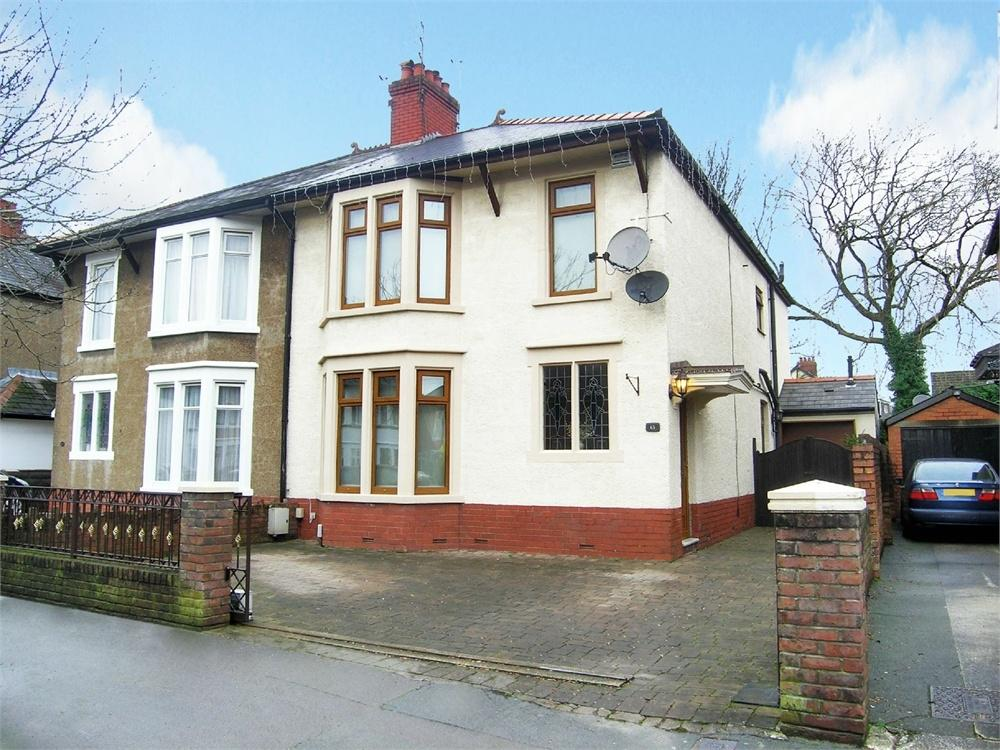 4 Bedrooms Semi Detached House for sale in Foreland Road, Whitchurch, Cardiff