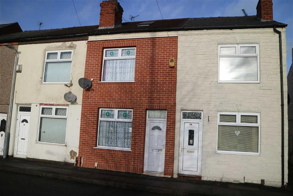 2 Bedrooms Terraced House for sale in Queen Street, Kirkby In Ashfield, Notts, NG17