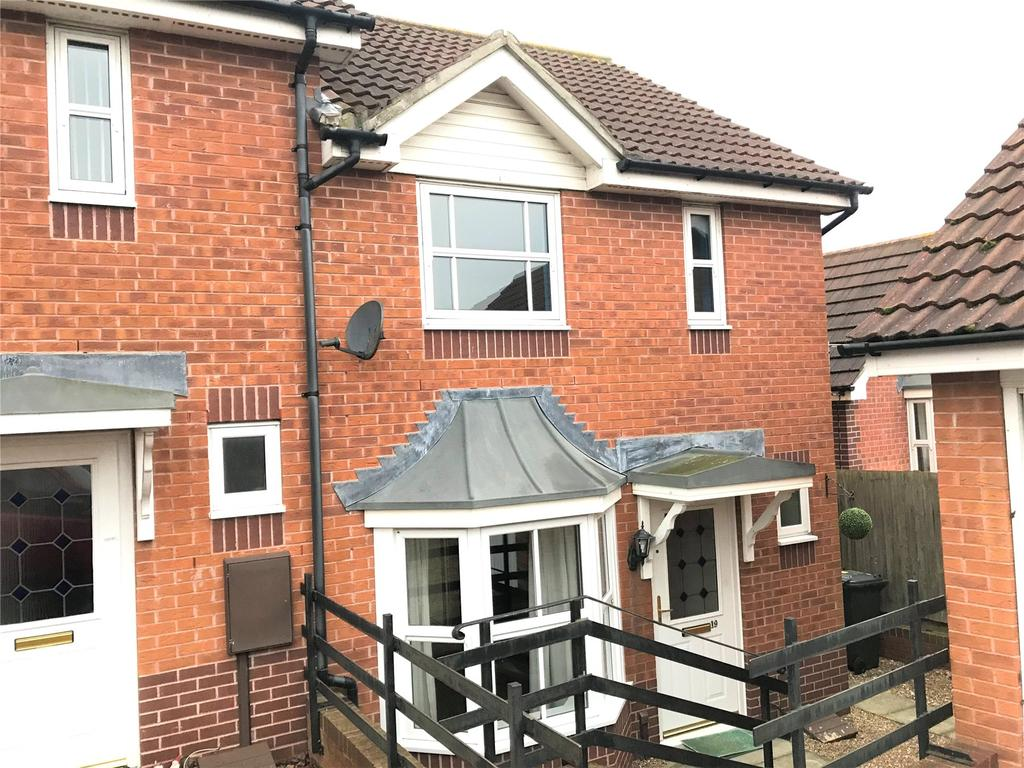 2 Bedrooms Semi Detached House for rent in Victory Way, Sleaford, NG34