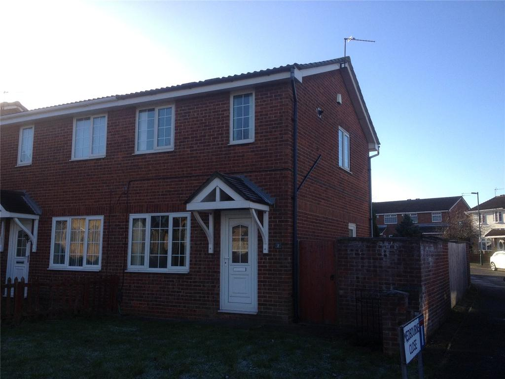2 Bedrooms Semi Detached House for rent in Ashbourne Close, Eston