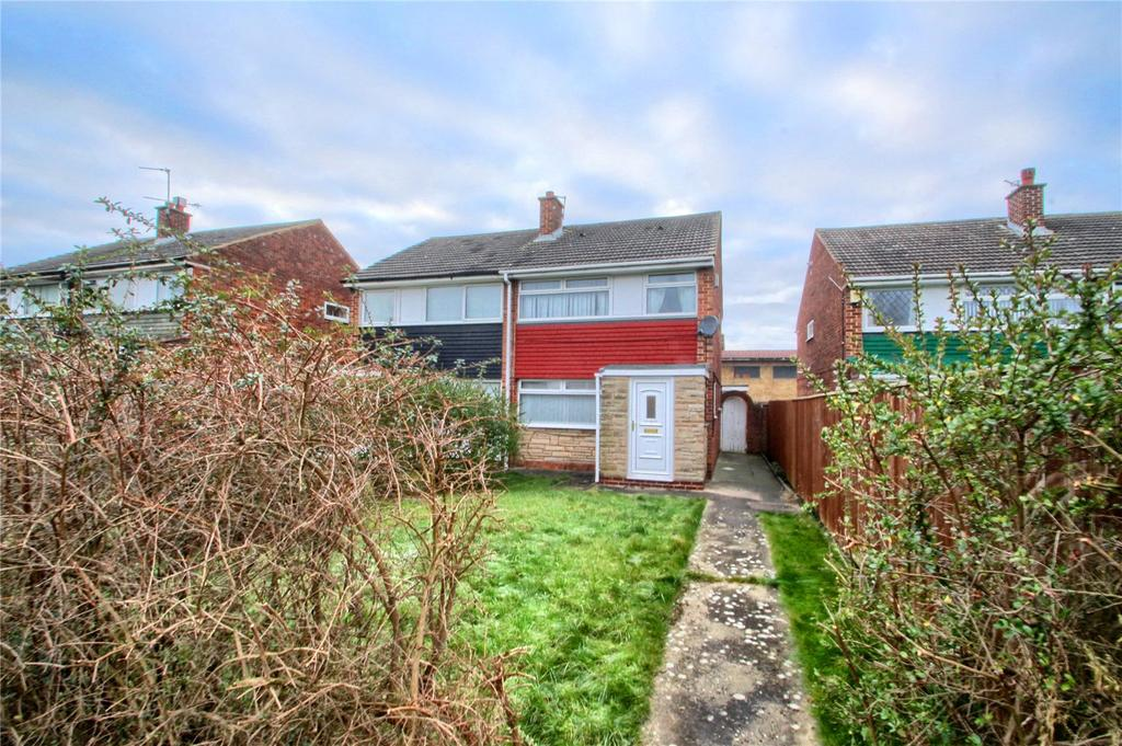 3 Bedrooms Semi Detached House for sale in Bothal Walk, Bishopsgarth
