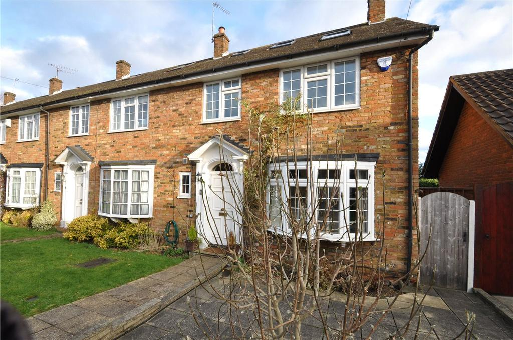 4 Bedrooms End Of Terrace House for sale in The Danes, Park Street, St. Albans, Hertfordshire