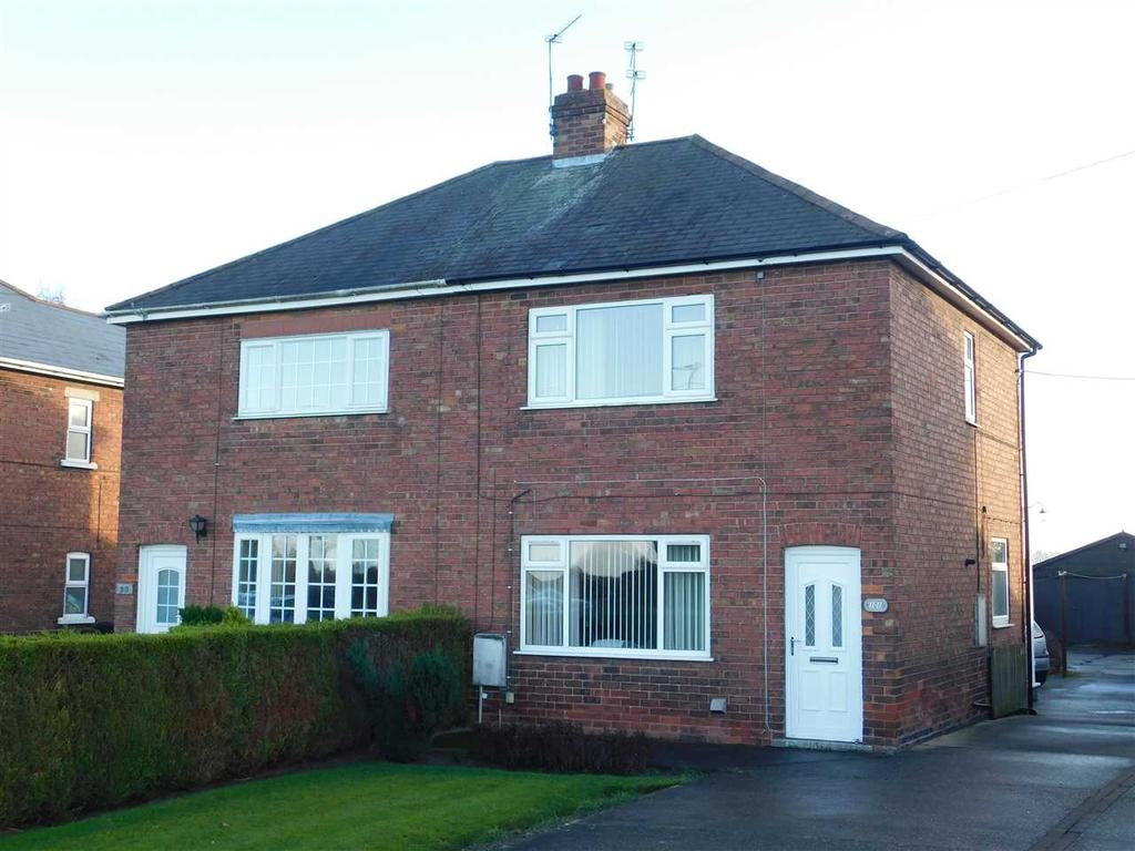 2 Bedrooms Semi Detached House for sale in GAINSBOROUGH ROAD, SCOTTER, GAINSBOROUGH
