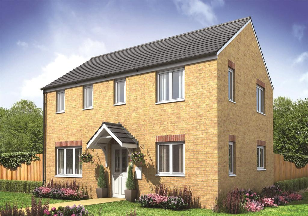 3 Bedrooms Detached House for sale in Plot 333 Millers Field, Manor Park, Sprowston, Norfolk, NR7