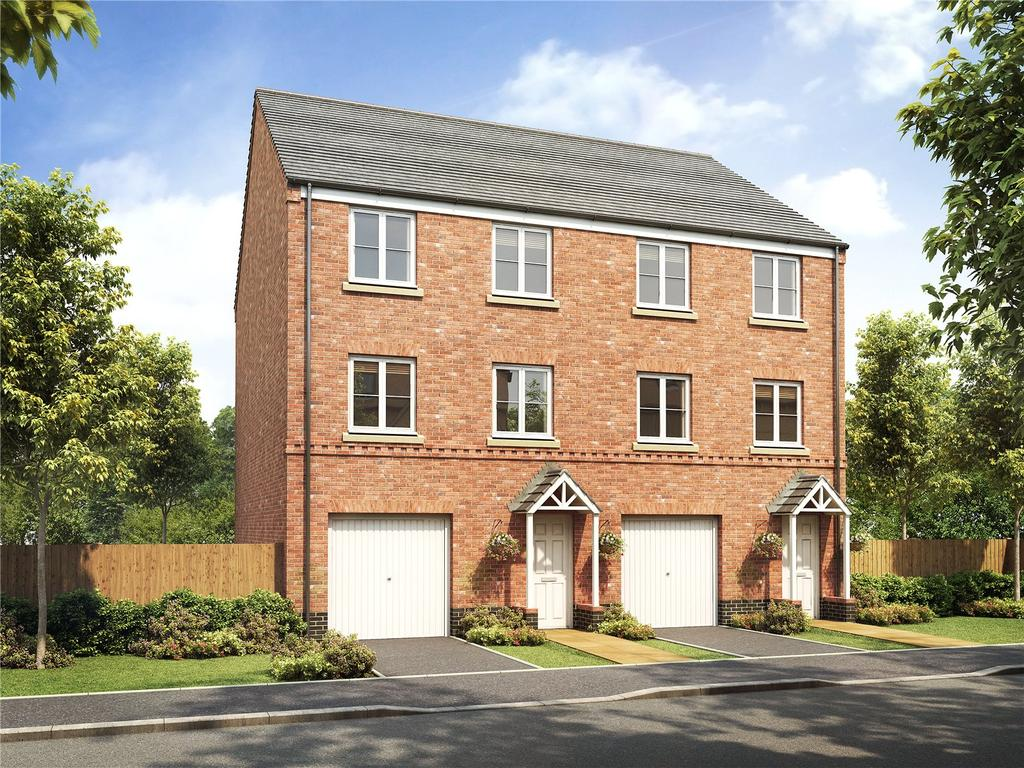 4 Bedrooms Semi Detached House for sale in Plot 335 Millers Field, Manor Park, Sprowston, Norfolk, NR7