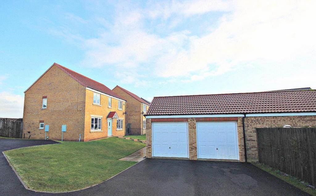 4 Bedrooms Detached House for sale in Deerness Heights, Stanley, Crook
