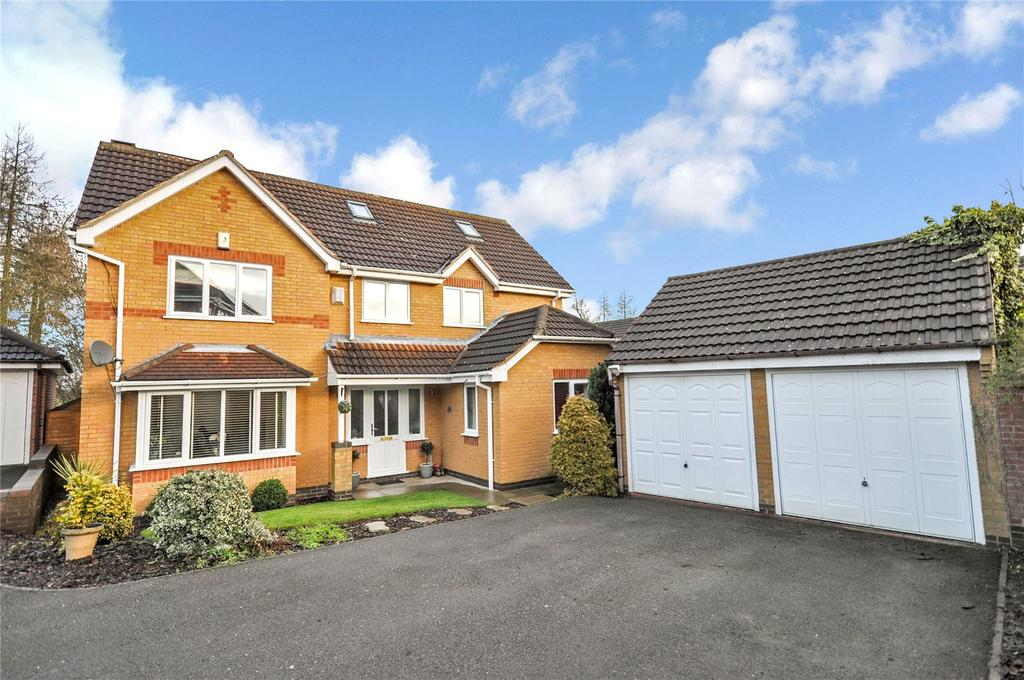 5 Bedrooms Detached House for sale in Manners Drive, Melton Mowbray, Leicestershire