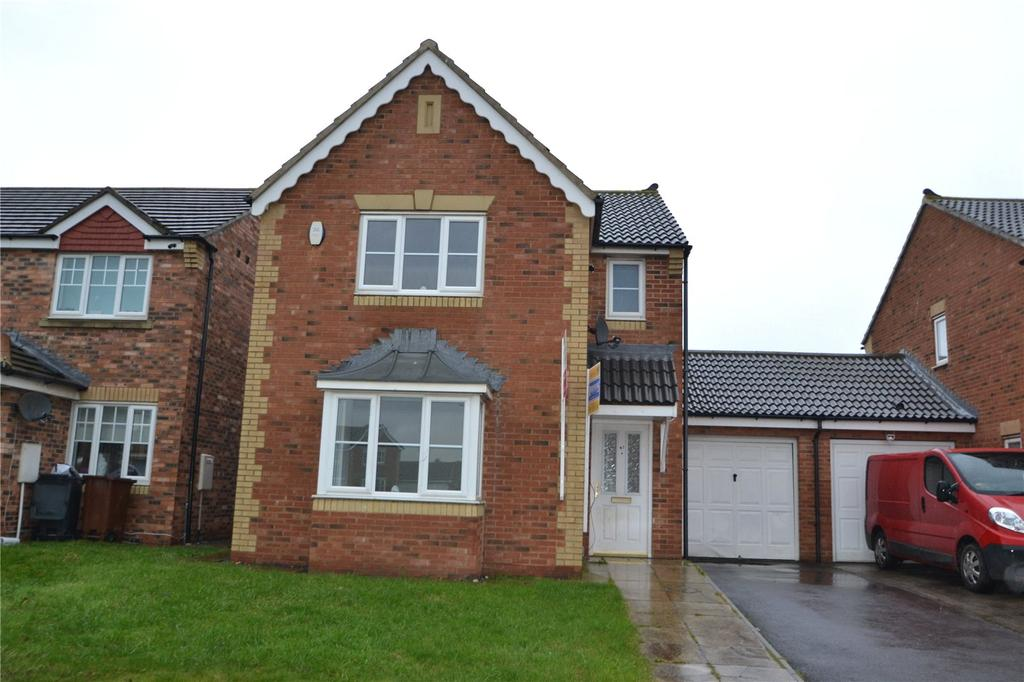 3 Bedrooms Link Detached House for sale in Sedgewick Close, Hartlepool, TS24